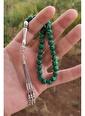 Aykat Malahit Taşlı Tesbih Yeşil